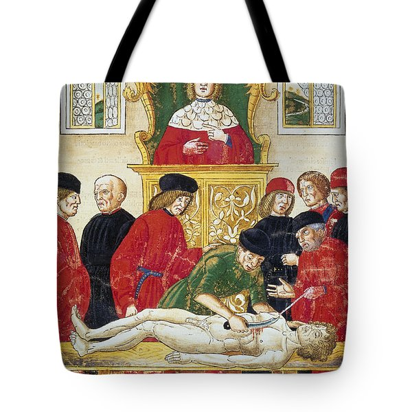 Lesson In Dissection Tote Bag by Granger