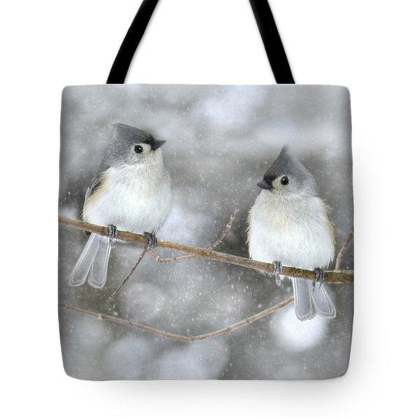 Let It Snow Tote Bag by Lori Deiter