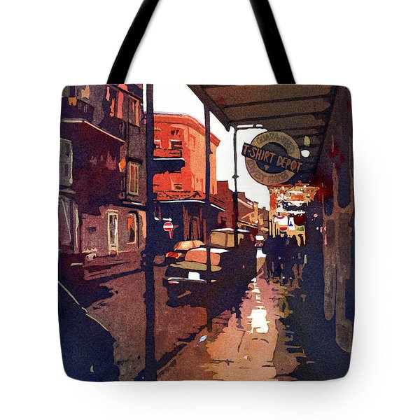Let The Good Times Roll Tote Bag by Kris Parins