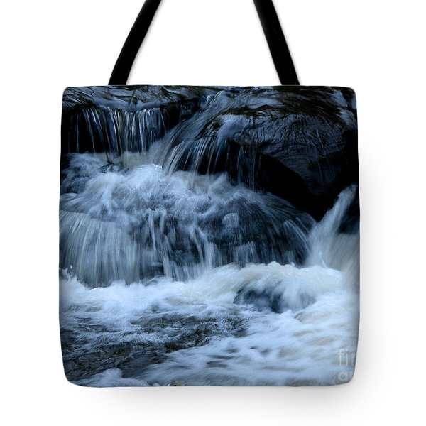 Letchworth State Park Genesee River Cascades Tote Bag by Rose Santuci-Sofranko
