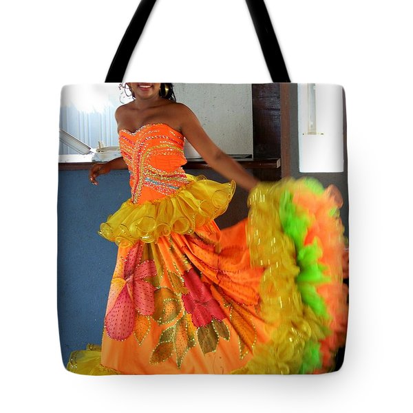 Lets Celebrate Tote Bag by Karen Wiles