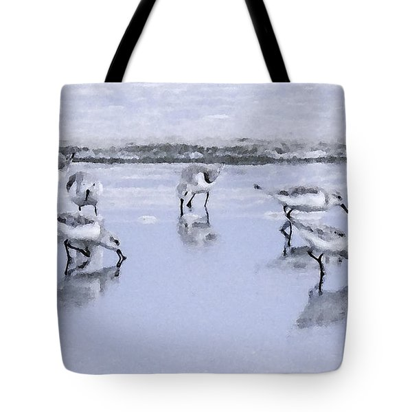 Let's Do Lunch Tote Bag by Betty LaRue