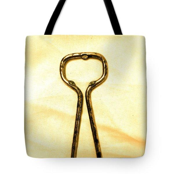 Let's Pop A Top Tote Bag by Anita Lewis