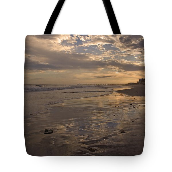 Let's Walk This Evening Tote Bag by Betsy C  Knapp