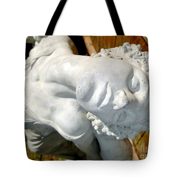 letting go Tote Bag by Ed Weidman