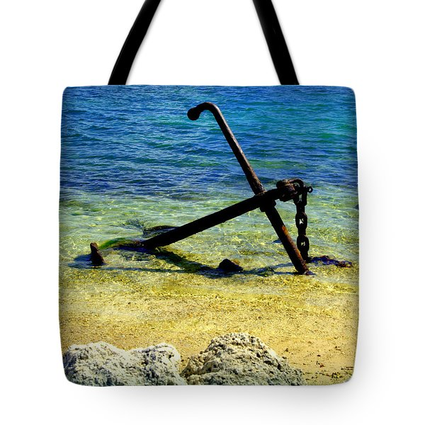 Letting Go Tote Bag by Karen Wiles