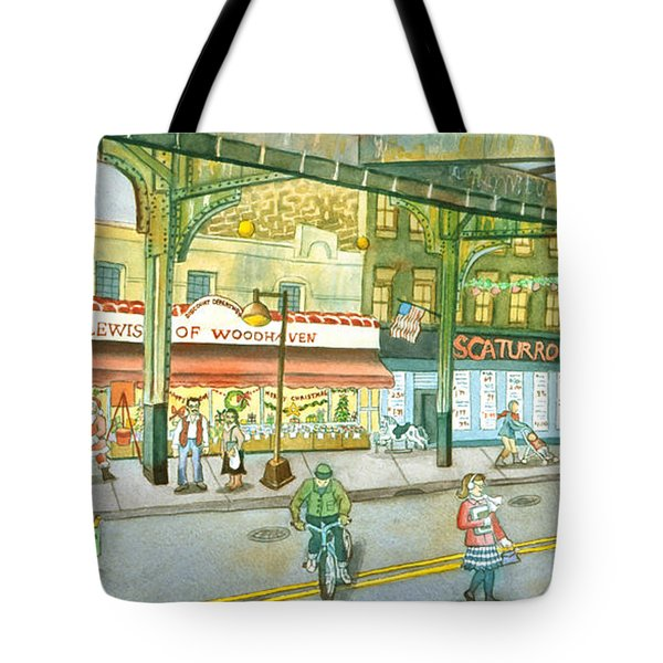 Lewis Of Woodhaven Tote Bag by Madeline  Lovallo