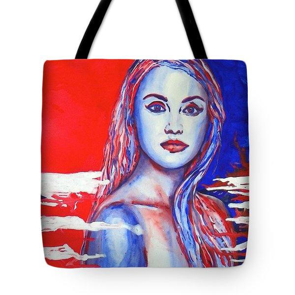 Liberty American Girl Tote Bag by Anna Ruzsan