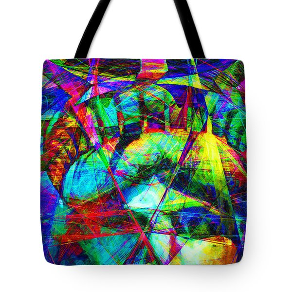 Liberty Head Abstract 20130618 Long Tote Bag by Wingsdomain Art and Photography