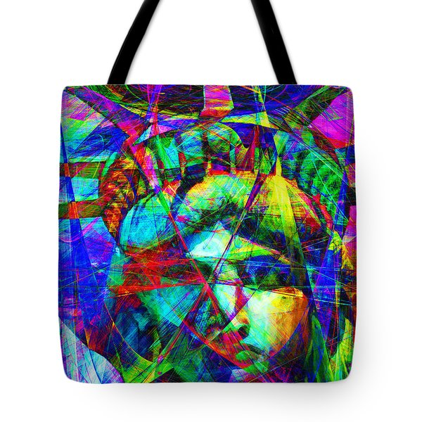 Liberty Head Abstract 20130618 Tote Bag by Wingsdomain Art and Photography