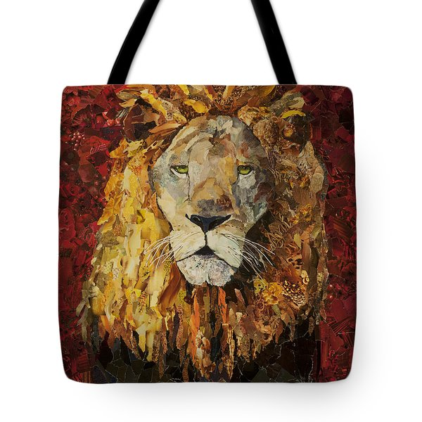 Liberty Lion Tote Bag by Claire Muller