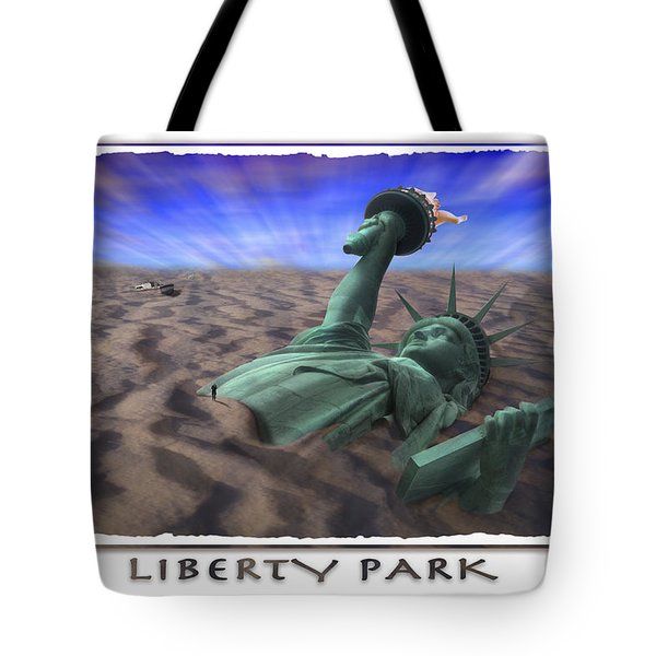 Liberty Park Tote Bag by Mike McGlothlen
