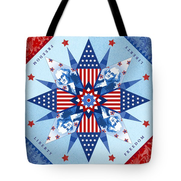 Liberty Quilt Tote Bag by Valerie Drake Lesiak