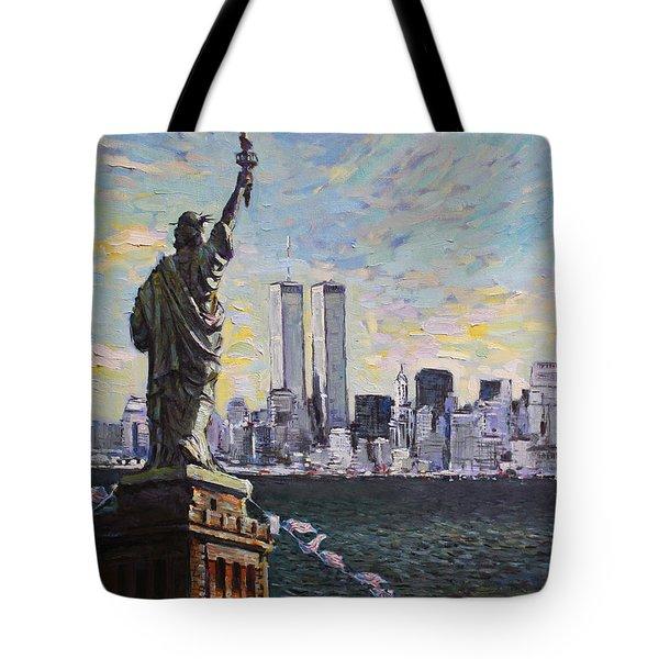 Liberty Tote Bag by Ylli Haruni