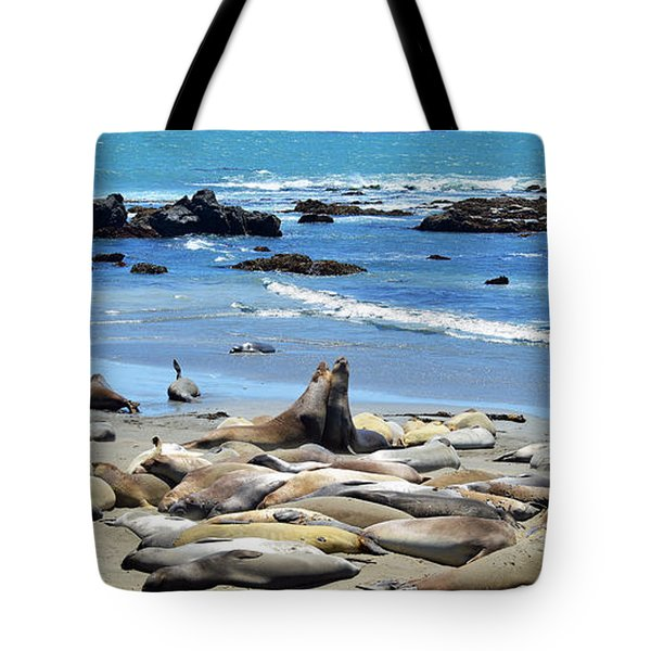 Life at the Rookery Tote Bag by Lynn Bauer