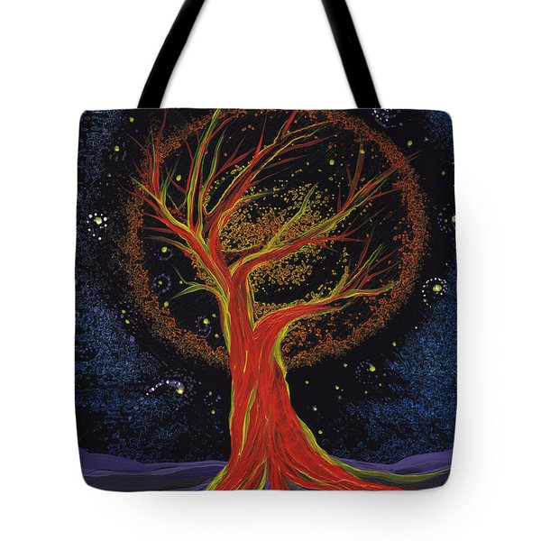 Life Blood Tree By Jrr Tote Bag by First Star Art