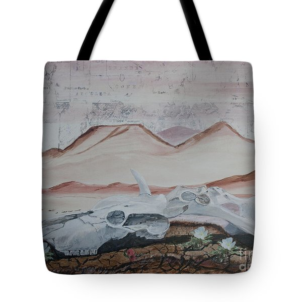 Life From Death In The Desert Tote Bag by Ian Donley