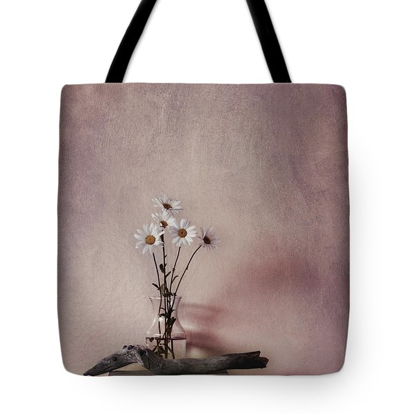Life Gives You Daisies Tote Bag by Priska Wettstein