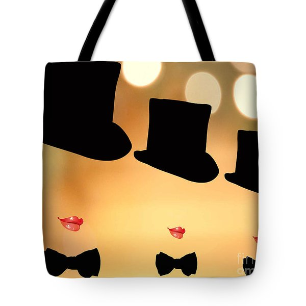 Life is a Cabaret Tote Bag by Cheryl Young