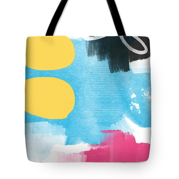 Life Is A Celebration-abstract Art Tote Bag by Linda Woods
