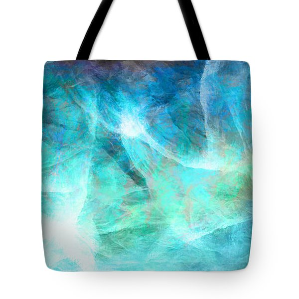 Life Is A Gift - Abstract Art Tote Bag by Jaison Cianelli