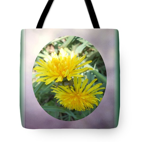 Life Is Made Up Of Dandelions Tote Bag by Patricia Keller