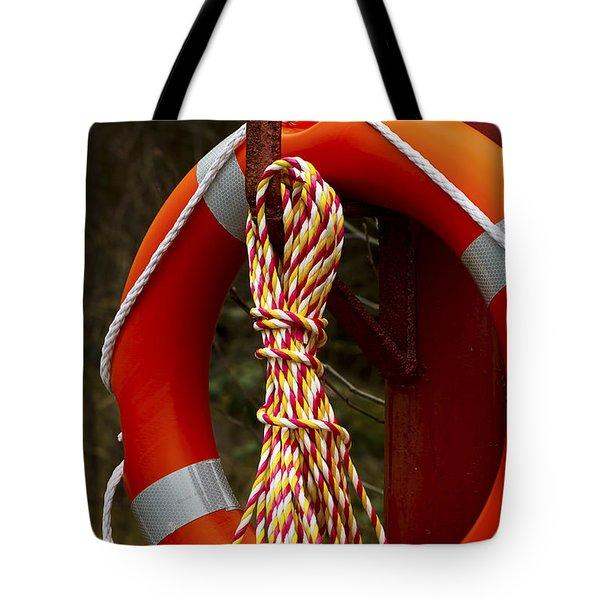 Life Saver Tote Bag by Jim Jones