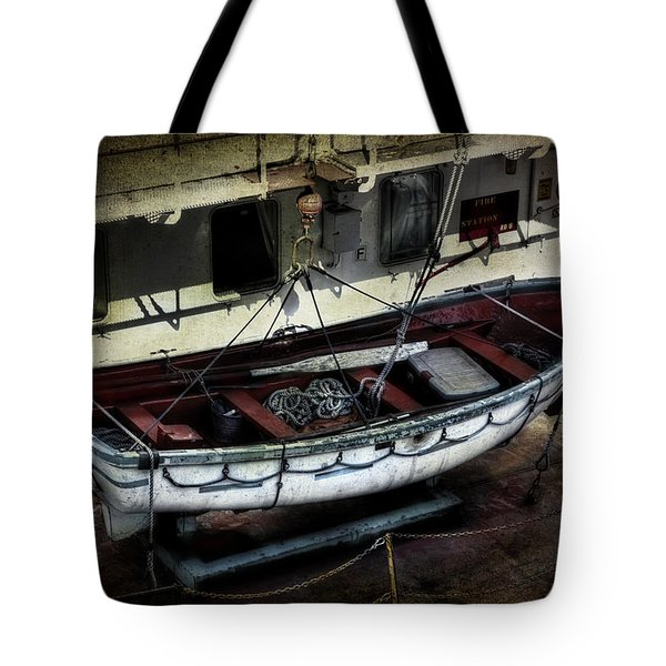 Lifeboat Tote Bag by Evie Carrier