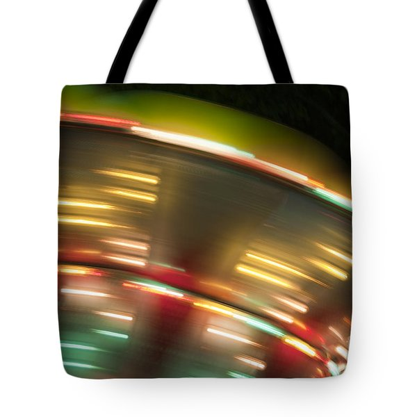 Light Abstract 9 Tote Bag by Tony Cordoza
