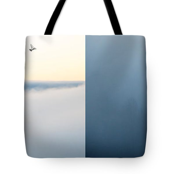 Light and Dark Tote Bag by Lisa Knechtel
