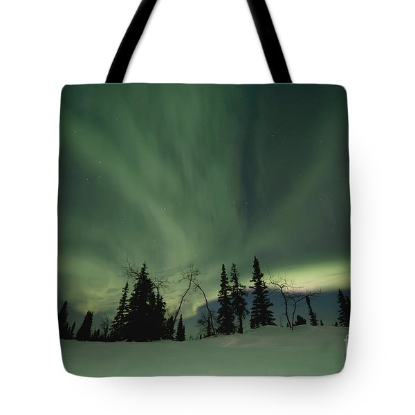 light dancers Tote Bag by Priska Wettstein