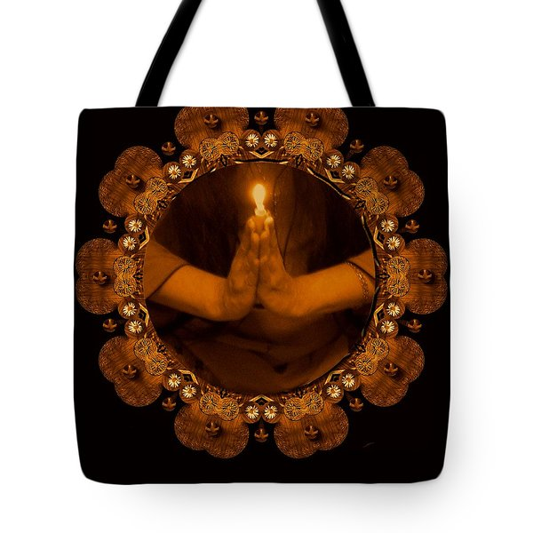 Light In The Dark Tote Bag by Pepita Selles