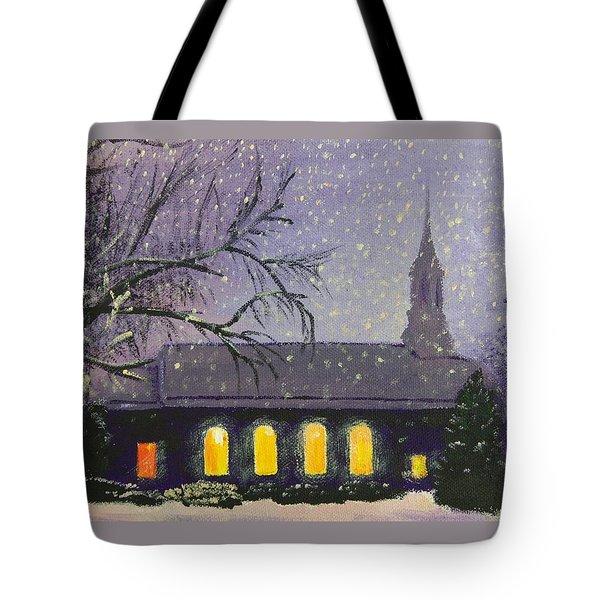 Light In The Darkness Tote Bag by Glenn Harden