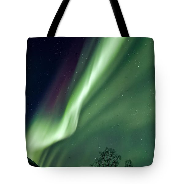 Light In The Sky Tote Bag by Dave Bowman