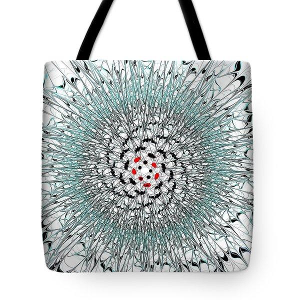 Light Nexus Tote Bag by Anastasiya Malakhova