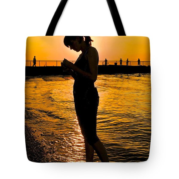 Light Of My Life Tote Bag by Frozen in Time Fine Art Photography