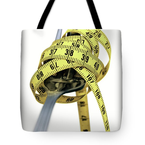 Light Spaghetti Tote Bag by Carlos Caetano
