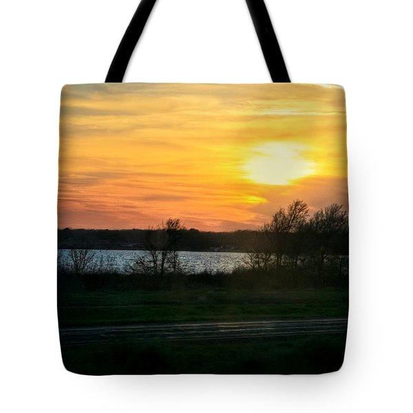 Light The Creek Tote Bag by Joan Bertucci