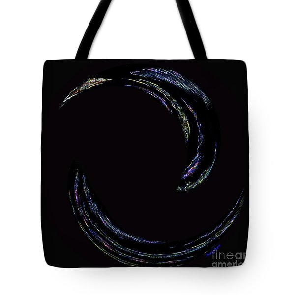 Light Trails Tote Bag by Cheryl Young