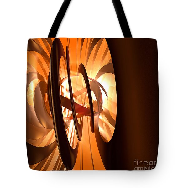 Light Transference Tote Bag by Peter R Nicholls