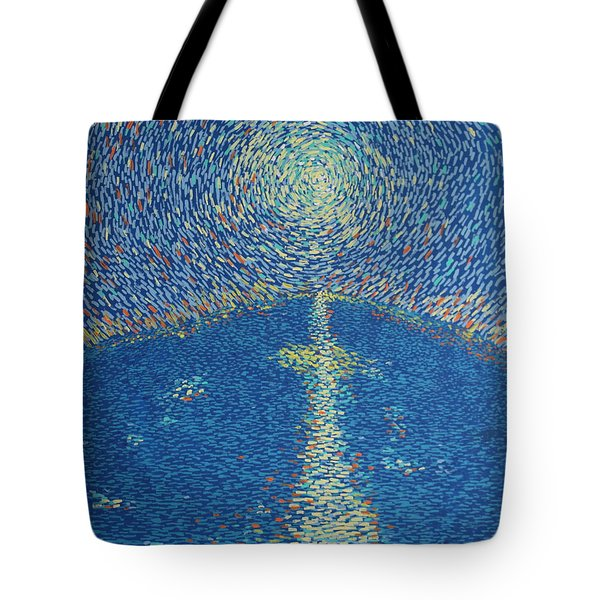 Light Upon The Water Tote Bag by Stefan Duncan