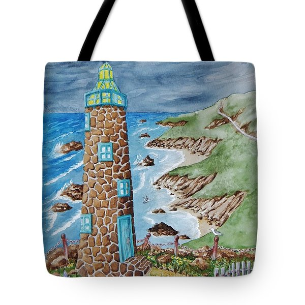 Lighthouse Tote Bag by Katherine Young-Beck