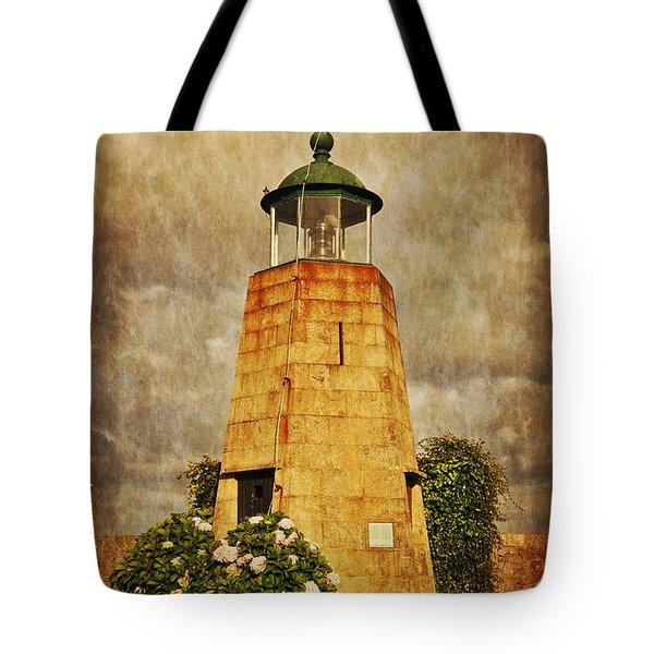 Lighthouse - La Coruna Tote Bag by Mary Machare