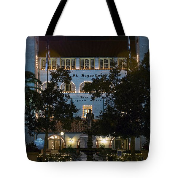 Lightner At Night Tote Bag by Kenneth Albin