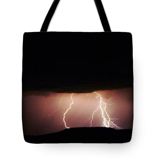 Lightning Dancing Tote Bag by Jeff Swan