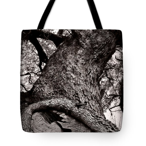 Lightning Tree  Tote Bag by Trish Mistric
