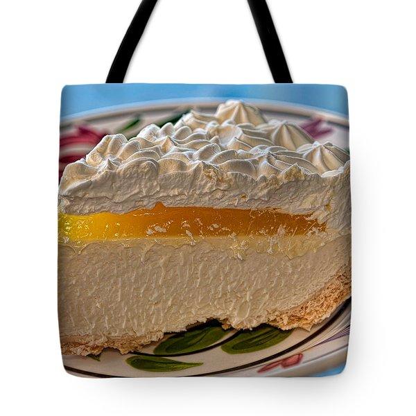 Lilikoi Cheese Pie Tote Bag by Dan McManus