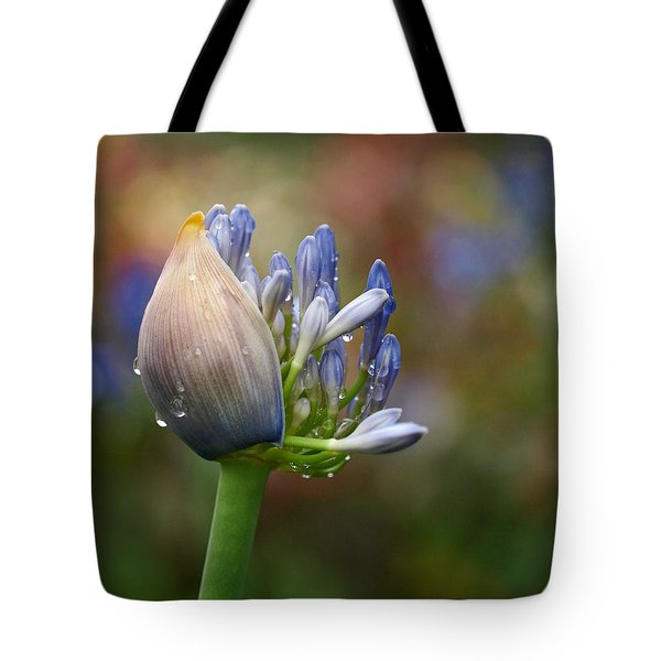 Lily of the Nile Tote Bag by Rona Black