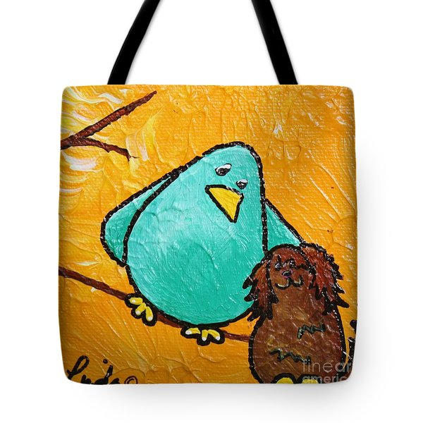 Limb Birds - Bird Dog Tote Bag by Linda Eversole