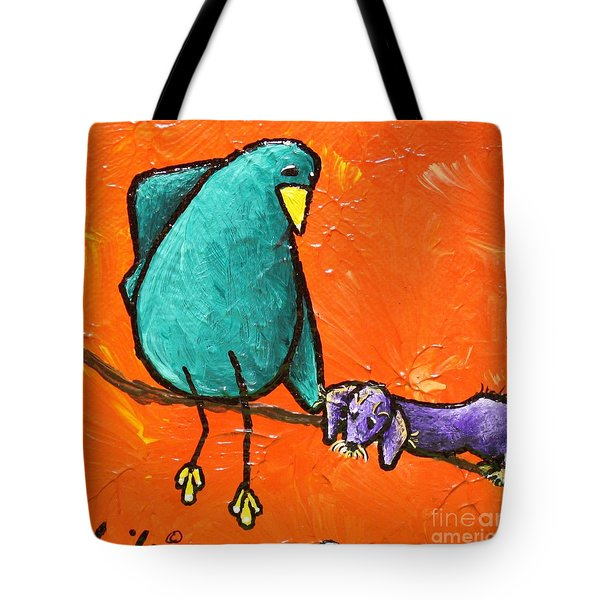 Limb Birds - You Get It Tote Bag by Linda Eversole